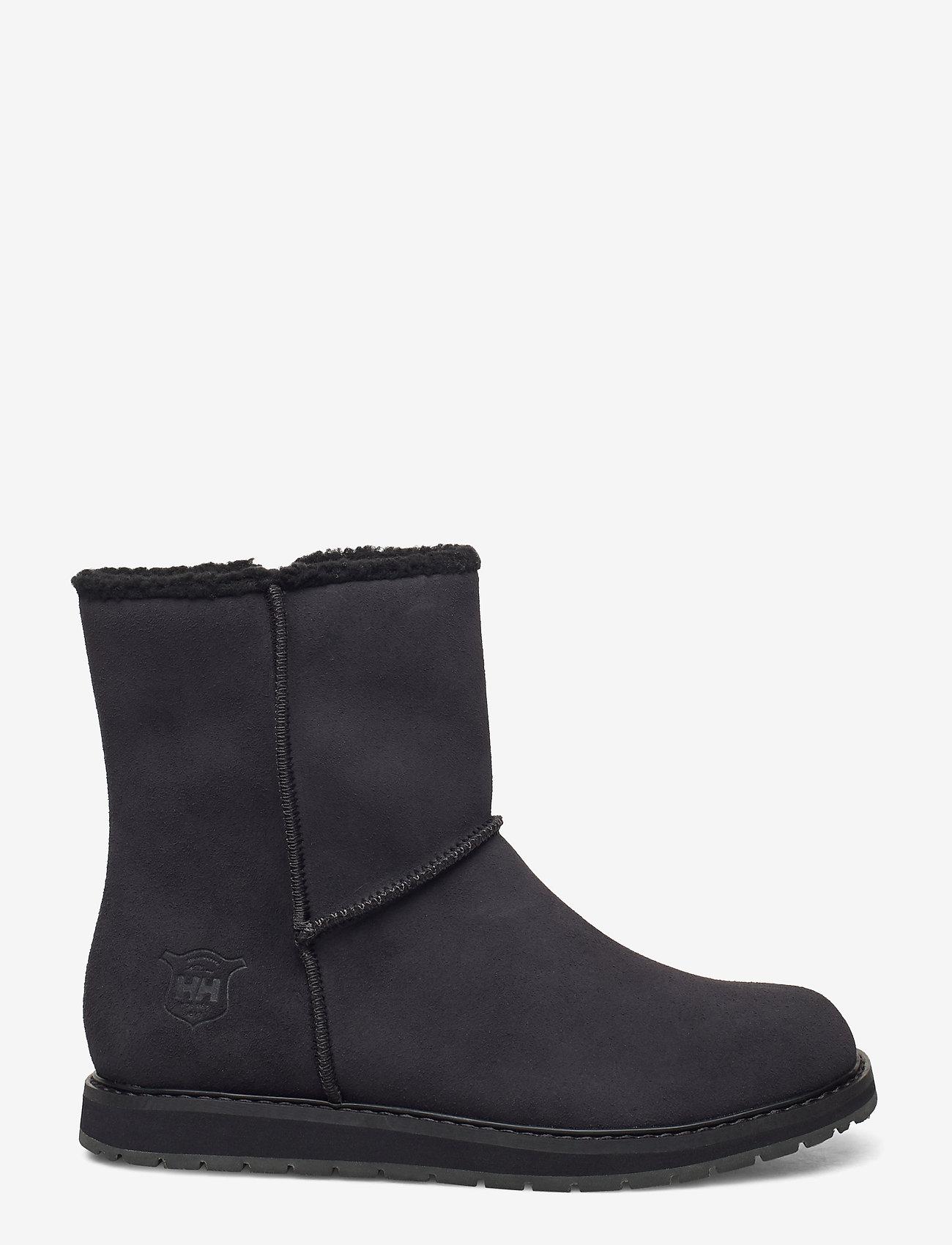 Helly Hansen - W ANNABELLE BOOT - flat ankle boots - 990 black / black gum - 1