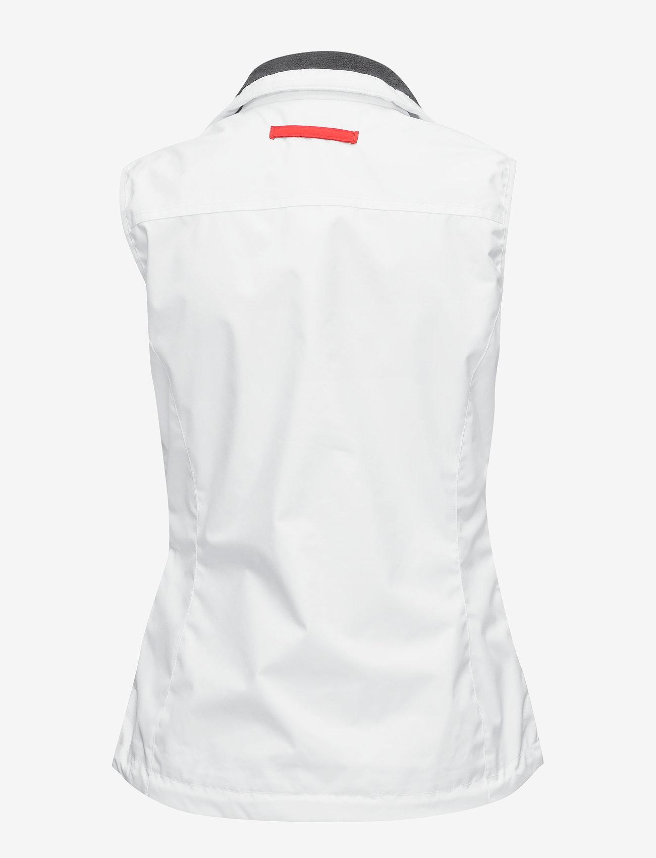 Helly Hansen - W CREW VEST - puffer vests - white - 1