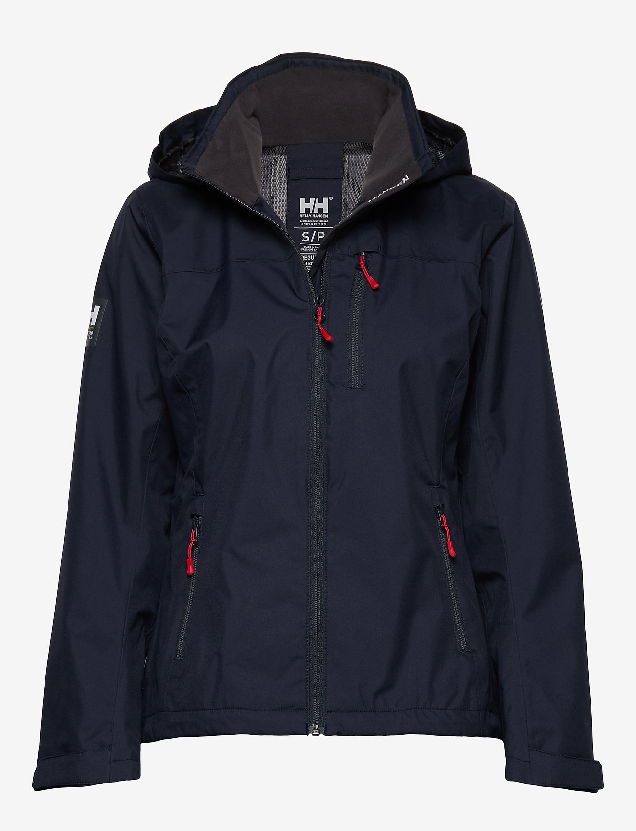 Helly Hansen - W CREW HOODED JACKET - ulkoilu- & sadetakit - 598 navy - 1