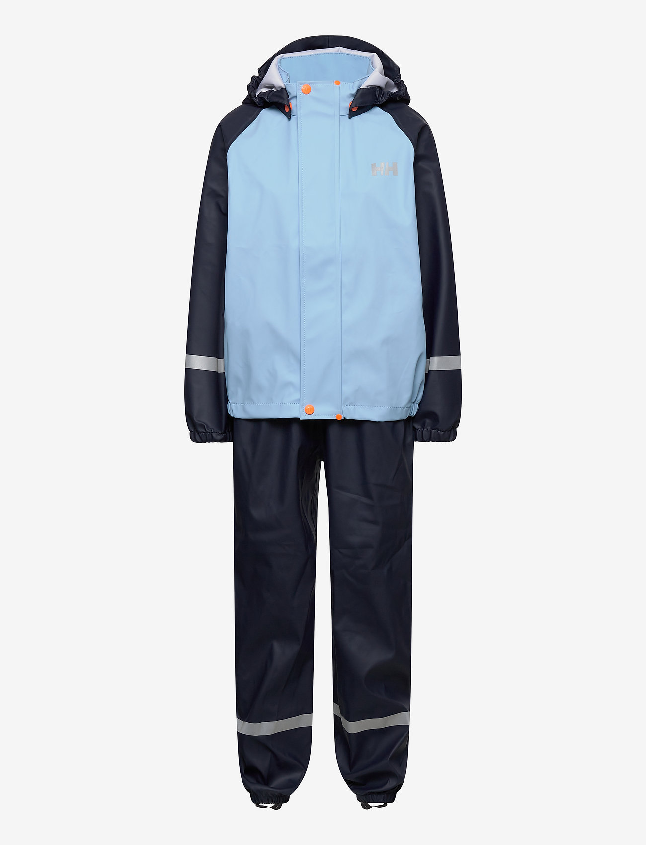 Helly Hansen - K BERGEN PU RAINSET - ensembles - navy - 0