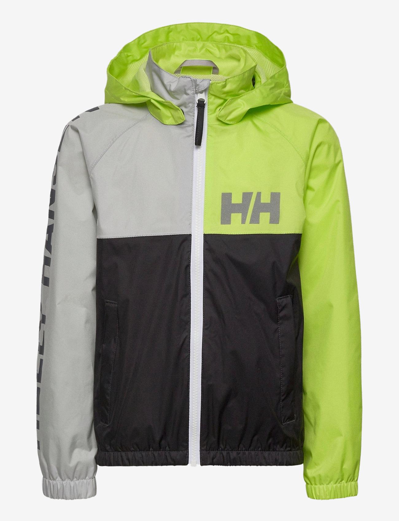Helly Hansen - K ACTIVE RAIN JACKET - jassen - ebony - 1