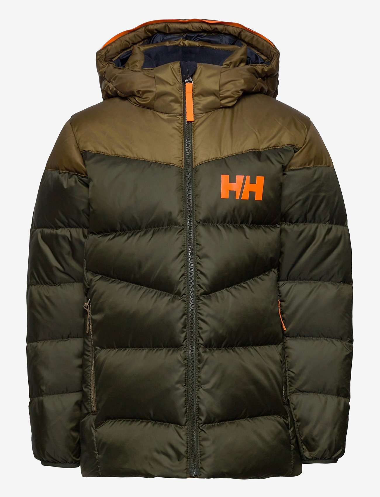 Helly Hansen - JR ISFJORD DOWN MIX JACKET - dunjackor & fodrade jackor - pine green - 1