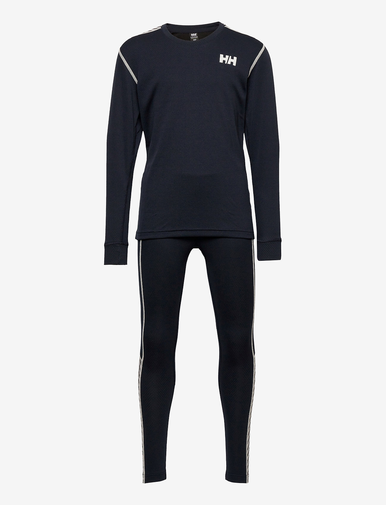Helly Hansen - JR HH LIFA ACTIVE SET - undertøysett - 597 navy - 0