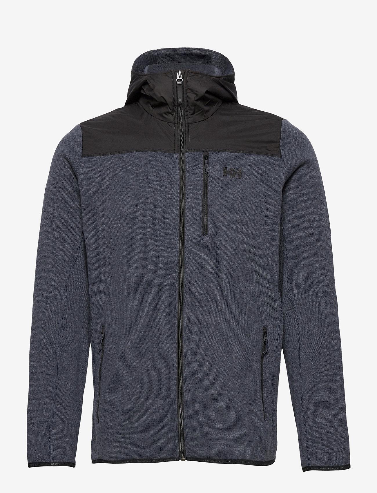 Helly Hansen - VARDE HOODED FLEECE JACKET - basic-sweatshirts - slate - 1