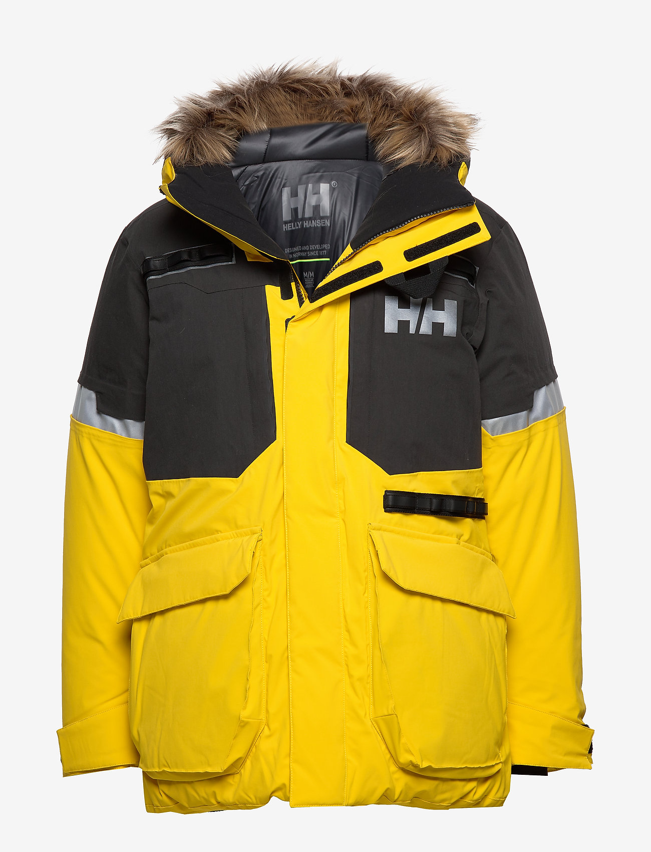 Helly Hansen - EXPEDITION PARKA - insulated jackets - sulphur - 0