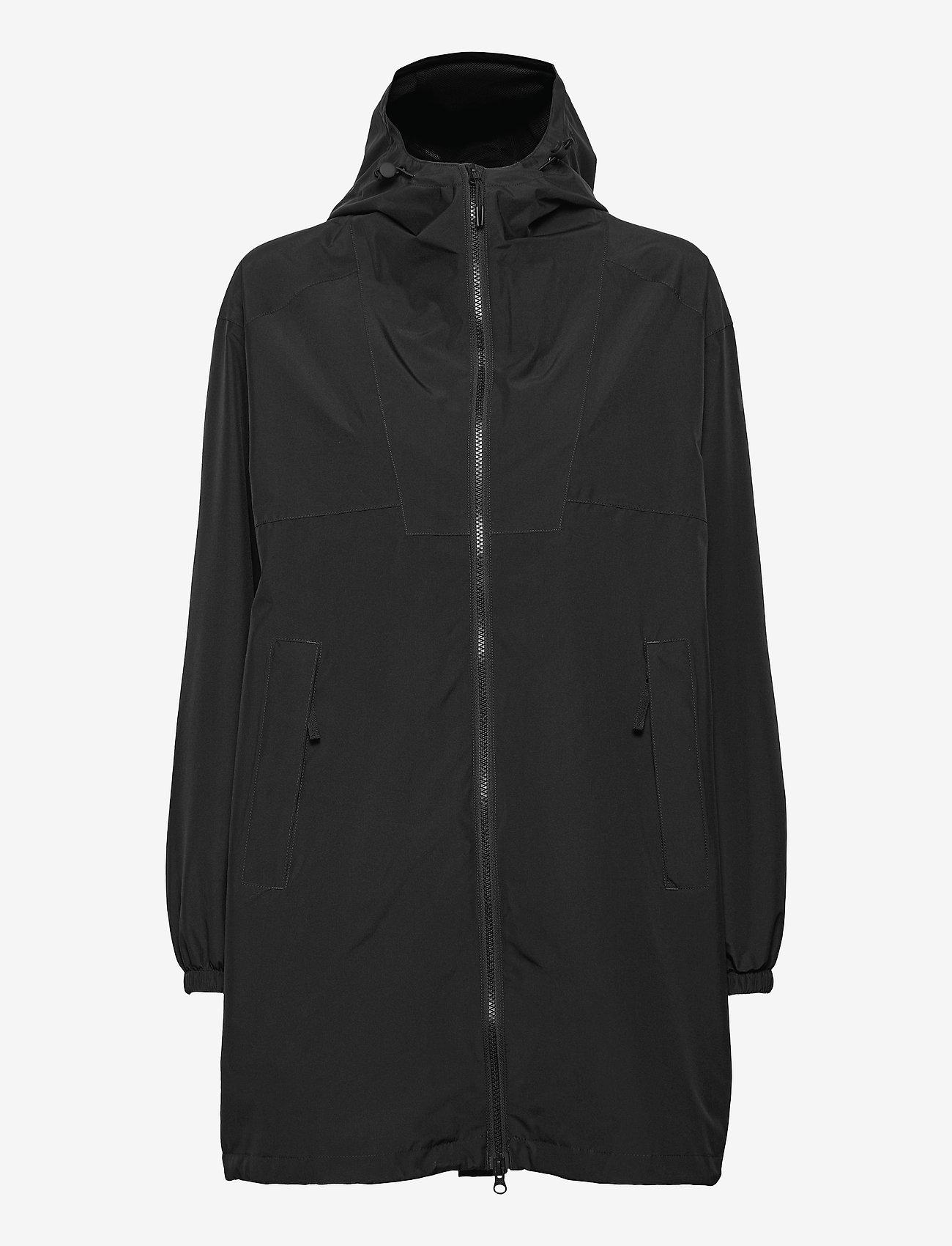Helly Hansen - W ILLUSION RAIN COAT - manteaux de pluie - black - 1