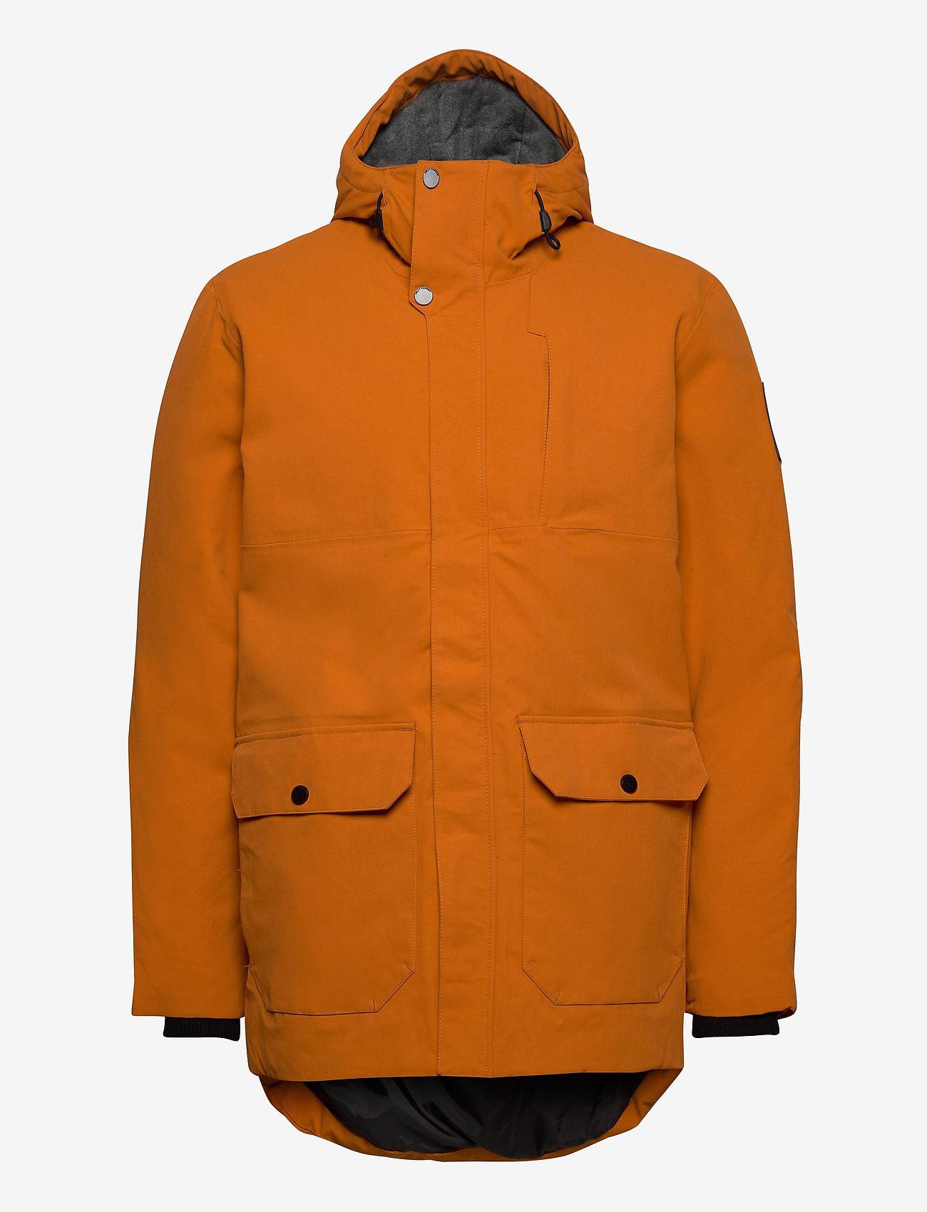 Helly Hansen - URBAN LONG JACKET - insulated jackets - marmalade - 1