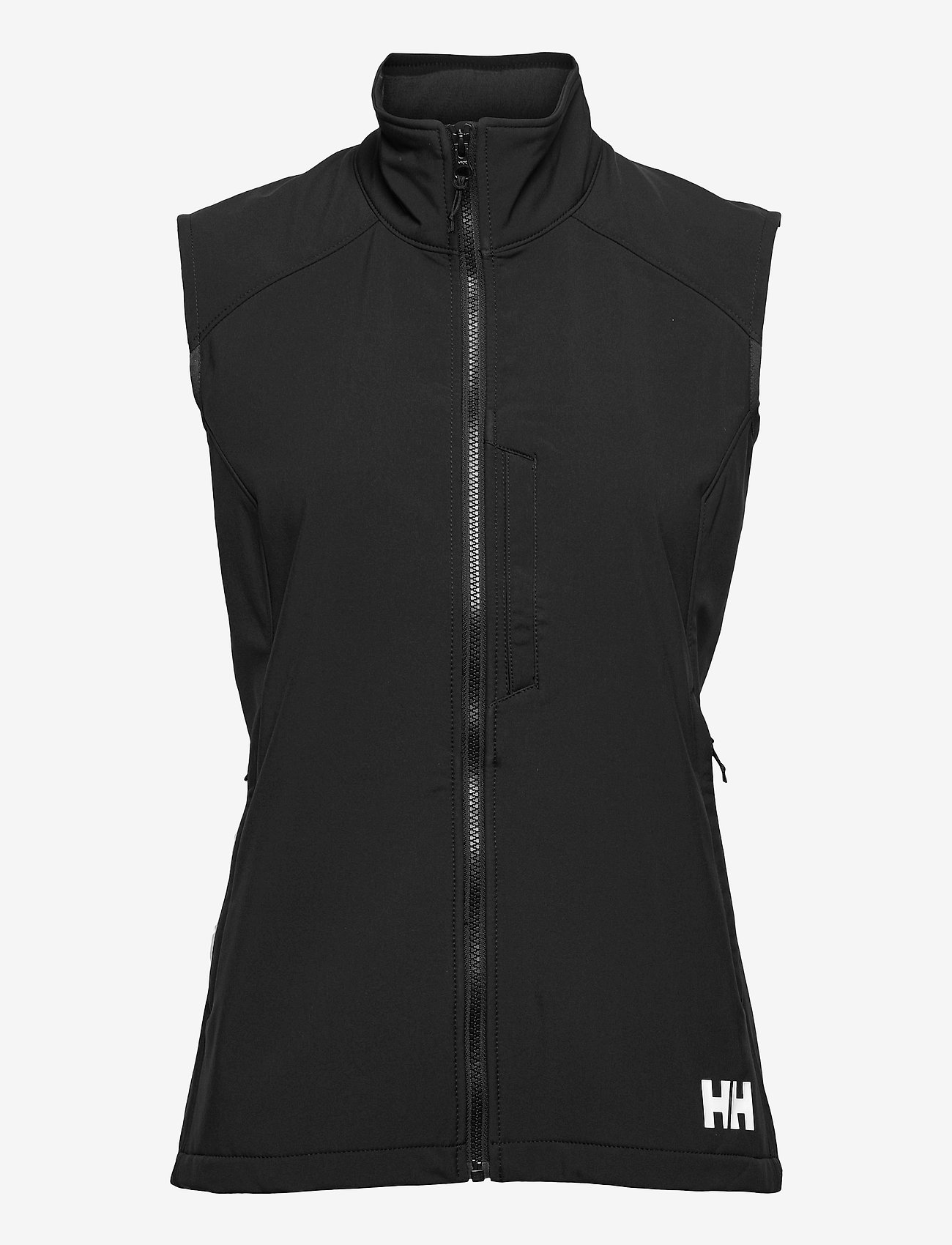 Helly Hansen - W PARAMOUNT SOFTSHELL VEST - puffer vests - 990 black - 1