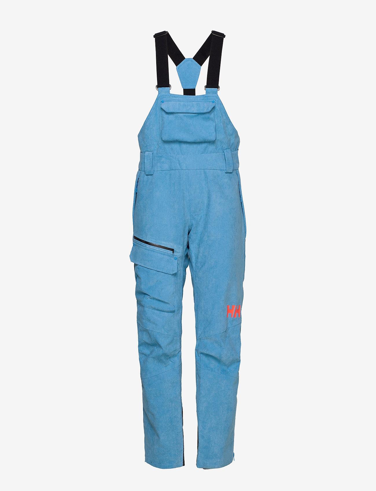 Helly Hansen - W POWDERQUEEN BIB PANT - shell pants - bluebell - 1