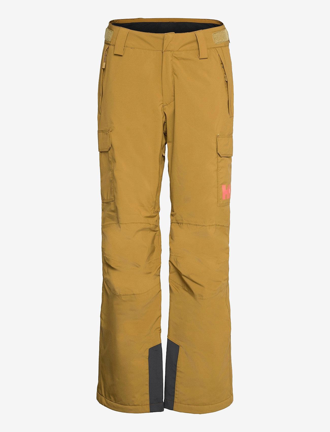 Helly Hansen - W SWITCH CARGO INSULATED PANT - skibroeken - uniform green - 0