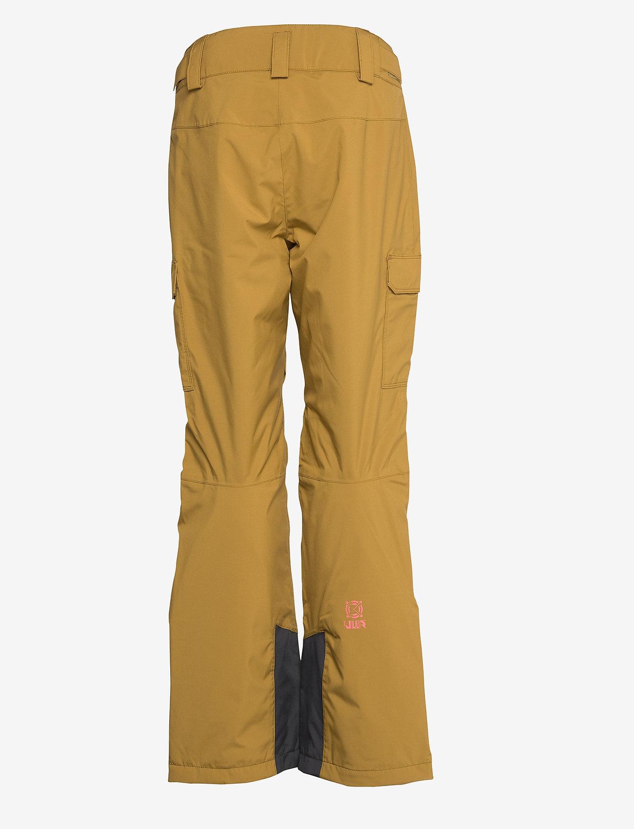 Helly Hansen - W SWITCH CARGO INSULATED PANT - skibroeken - uniform green - 1