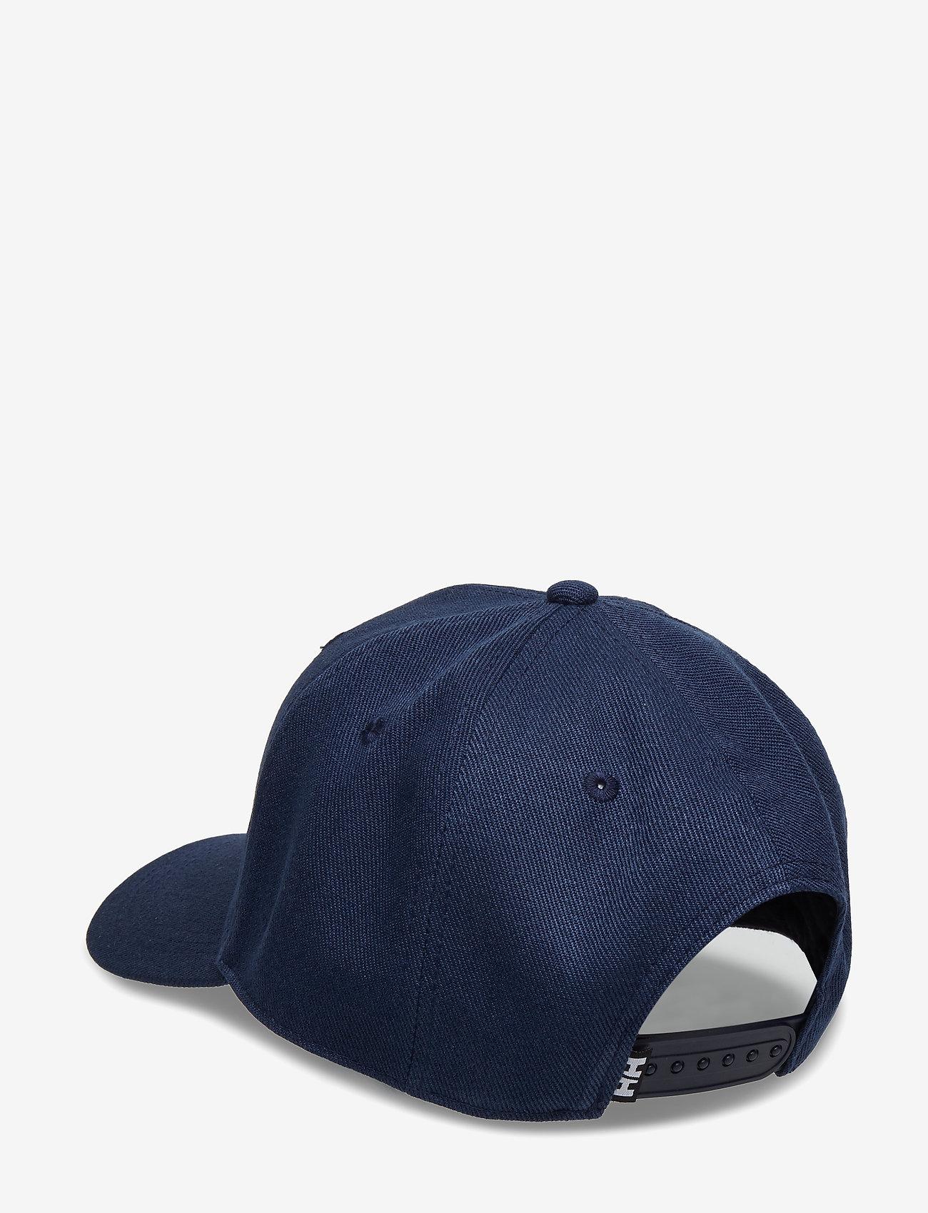 Helly Hansen - HH BRAND CAP - caps - 597 navy - 1