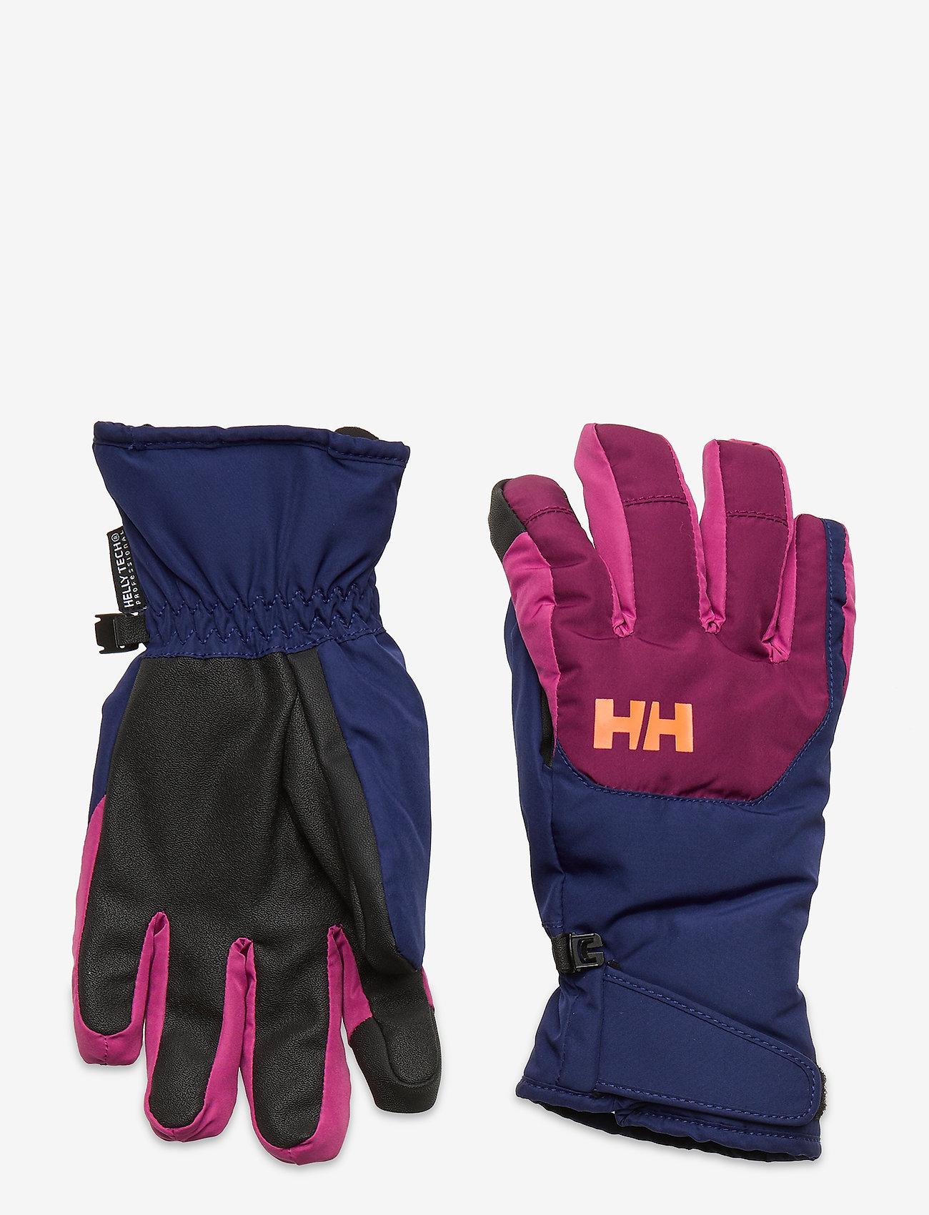 Helly Hansen - JR SWIFT HT GLOVE - vinterkläder - purple potion - 0