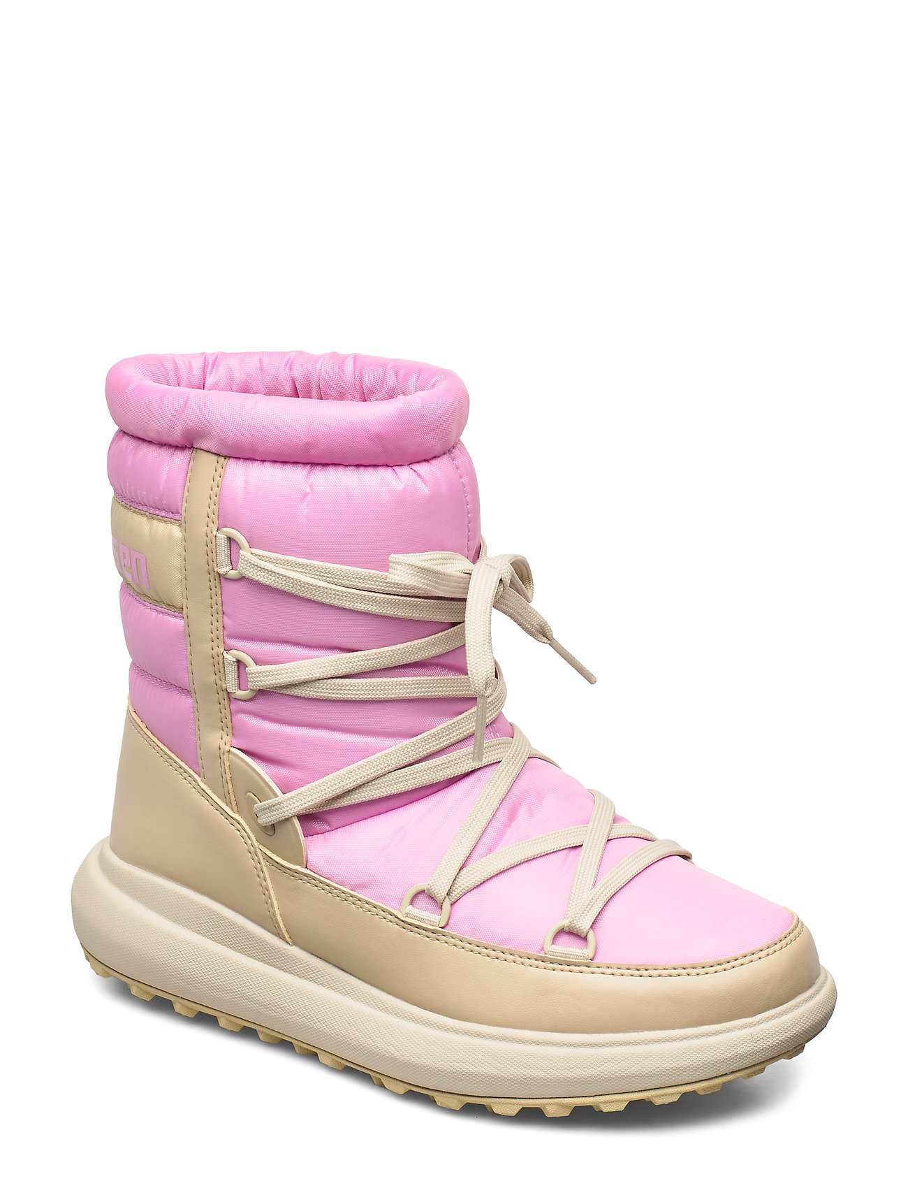 HELLY HANSEN W Isolabella Court Heritage Shoes Boots Ankle Boots Ankle Boots Flat Heel Pink HELLY HANSEN