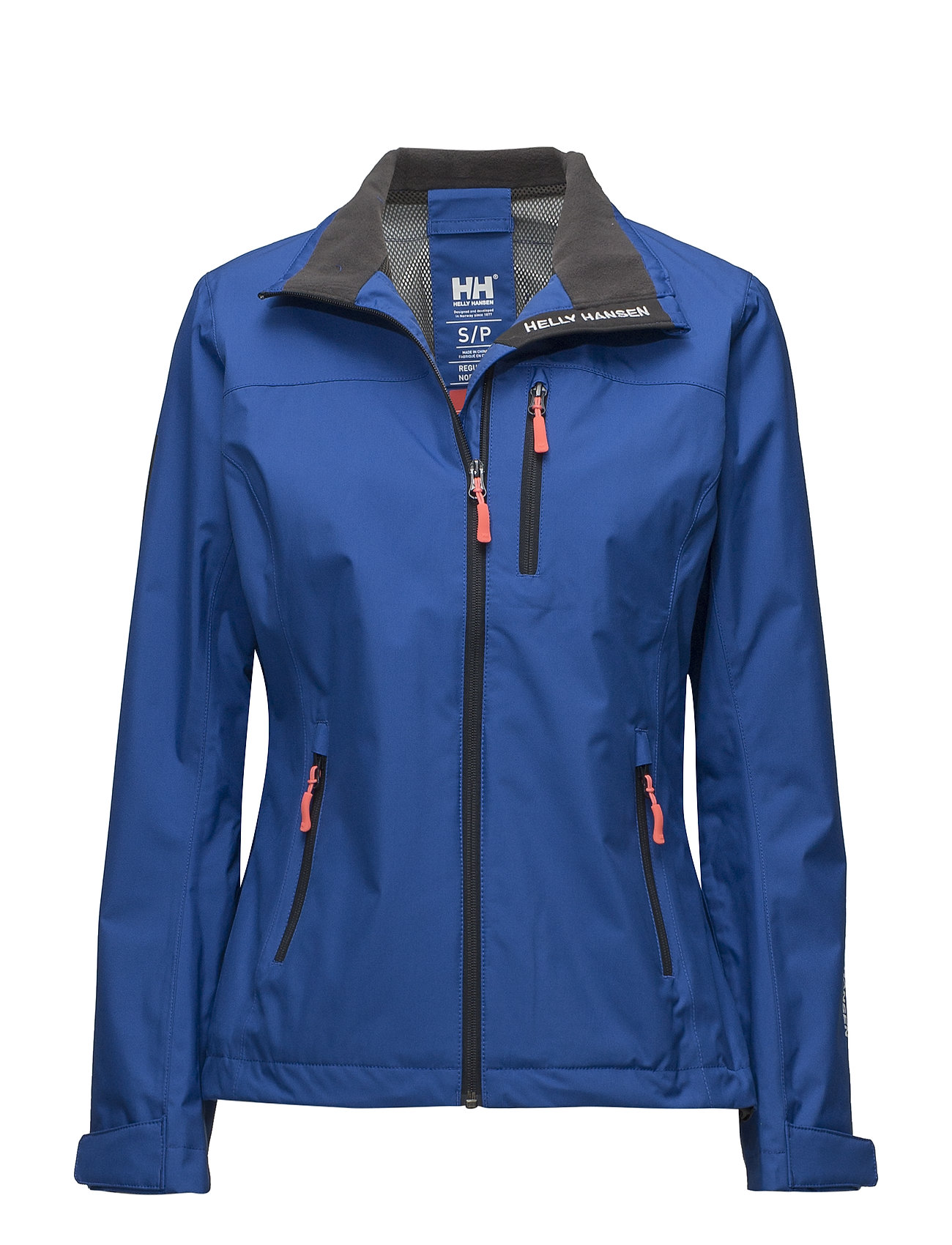 Helly Hansen W CREW JACKET - 563 OLYMPIAN BLUE