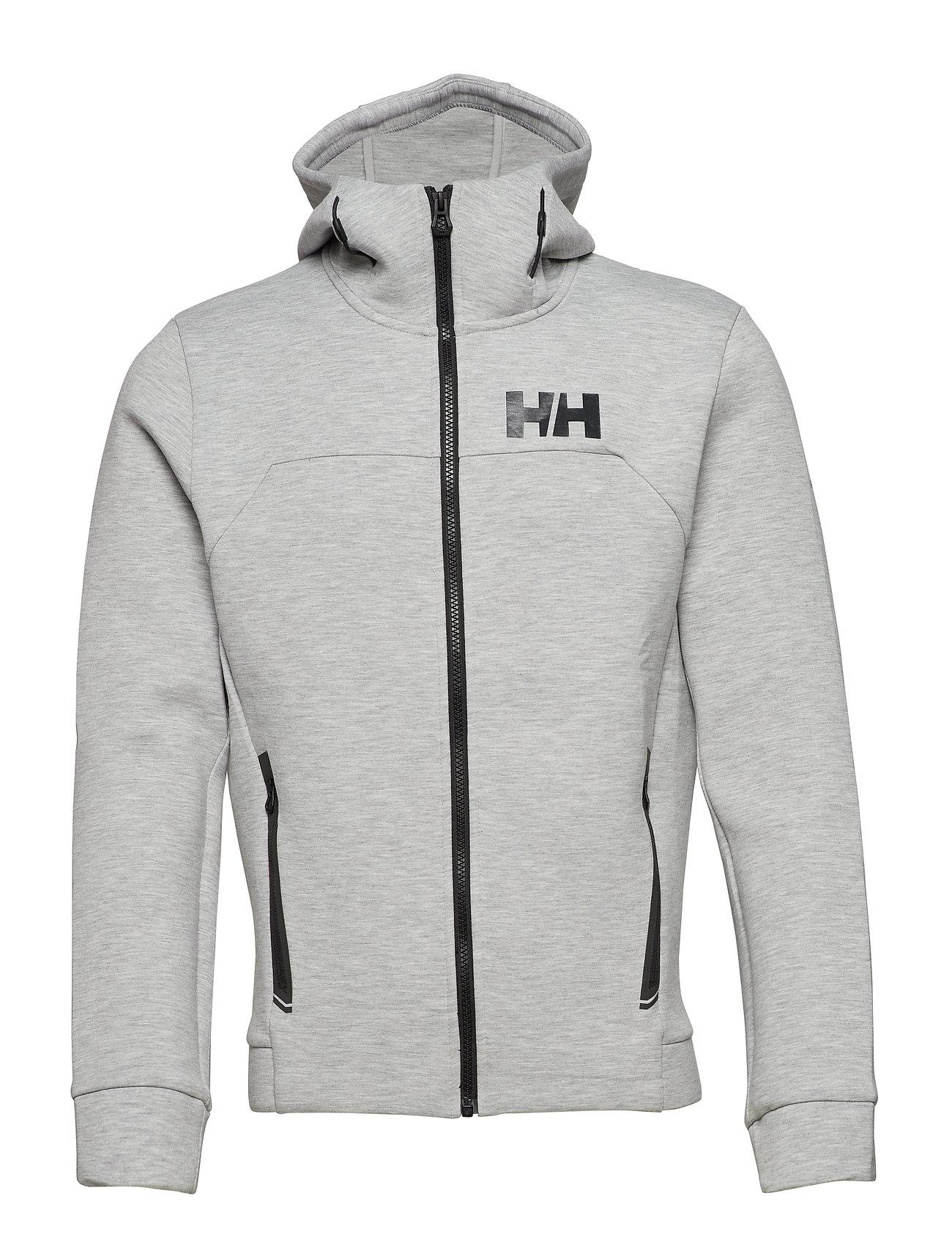 Helly Hansen HP OCEAN FZ HOODIE - GREY MELANGE