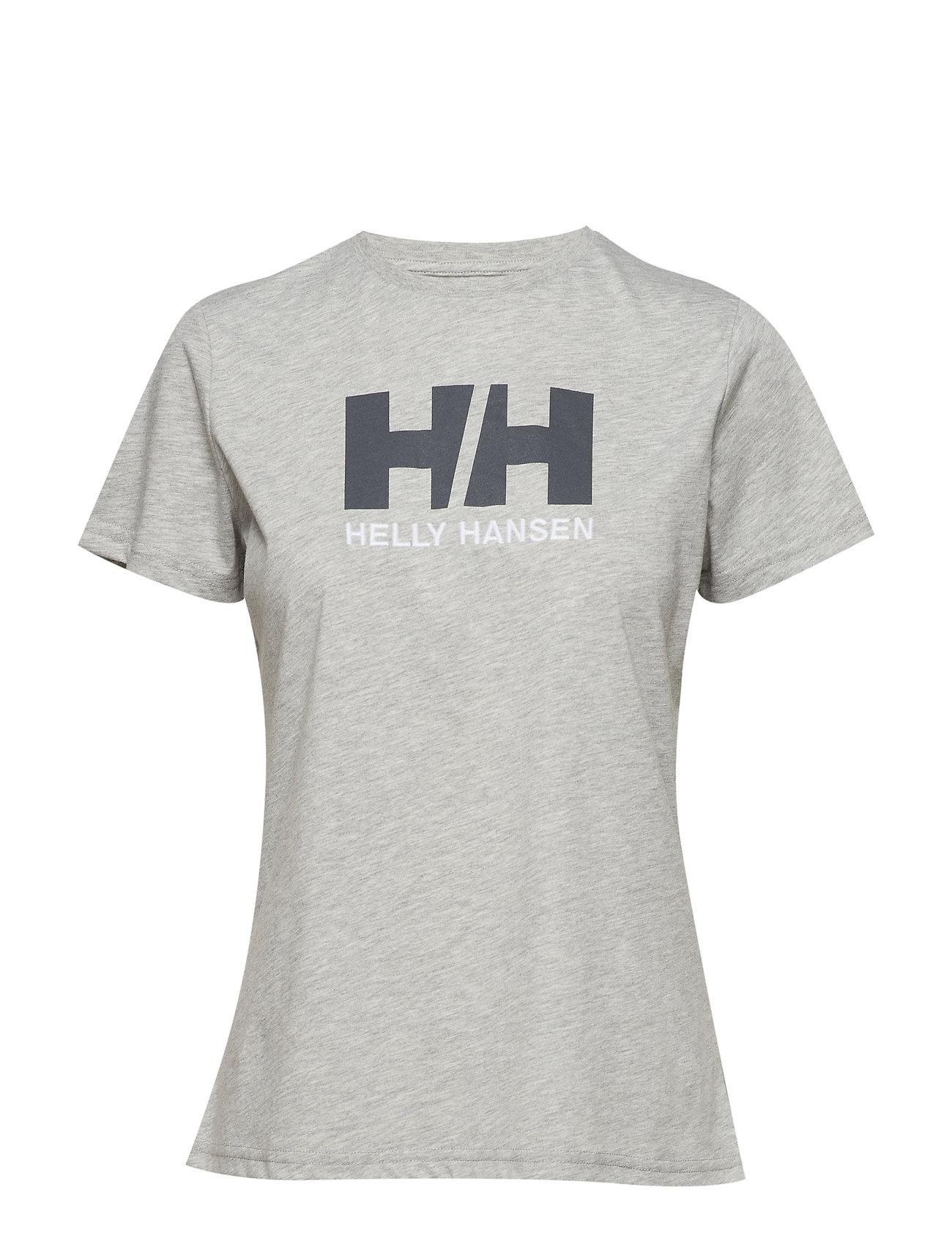 T Hansen Logo shirtgrey W MelangeHelly Hh D9YEe2IWH