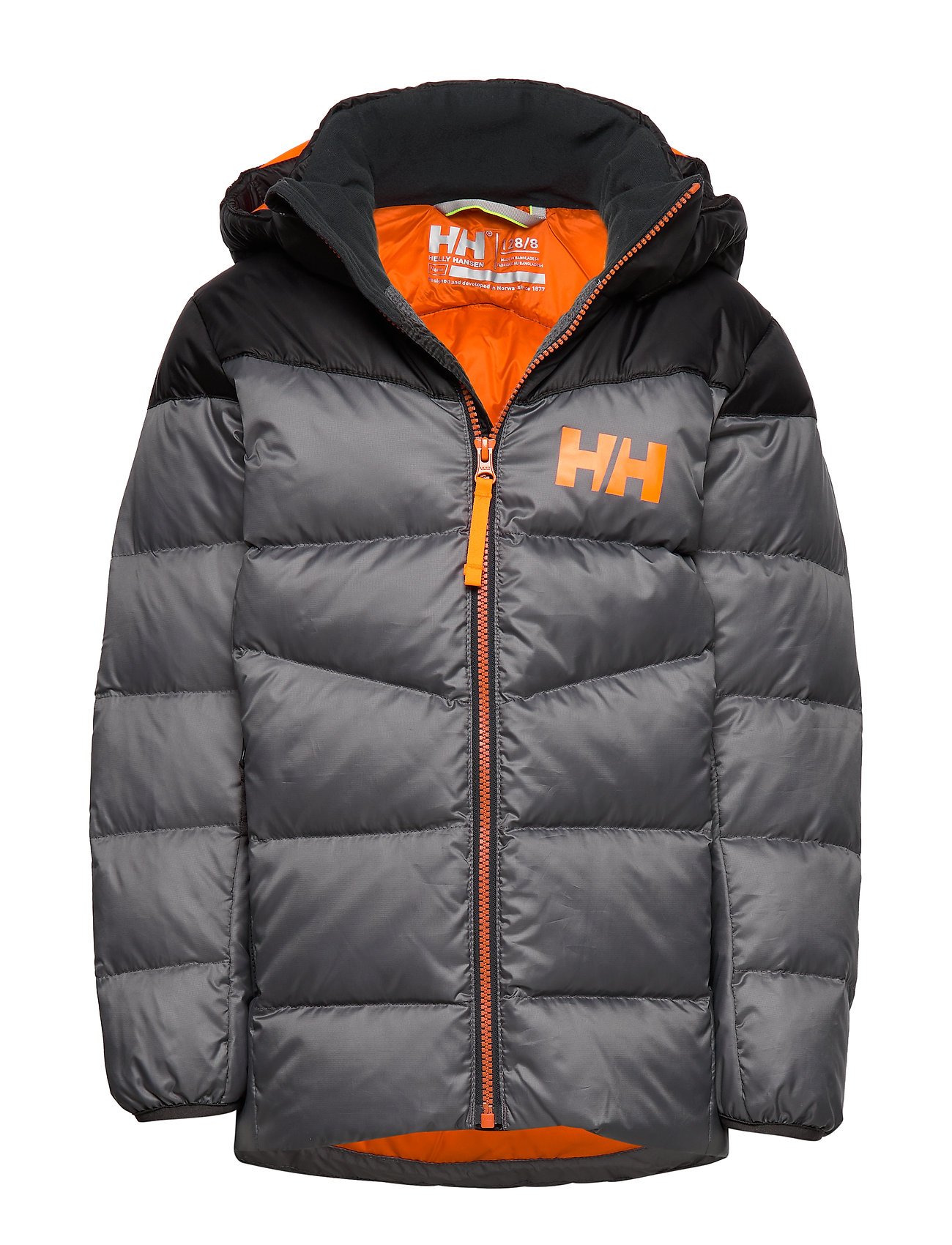 Helly Hansen JR ISFJORD DOWN MIX JACKET - QUIET SHADE