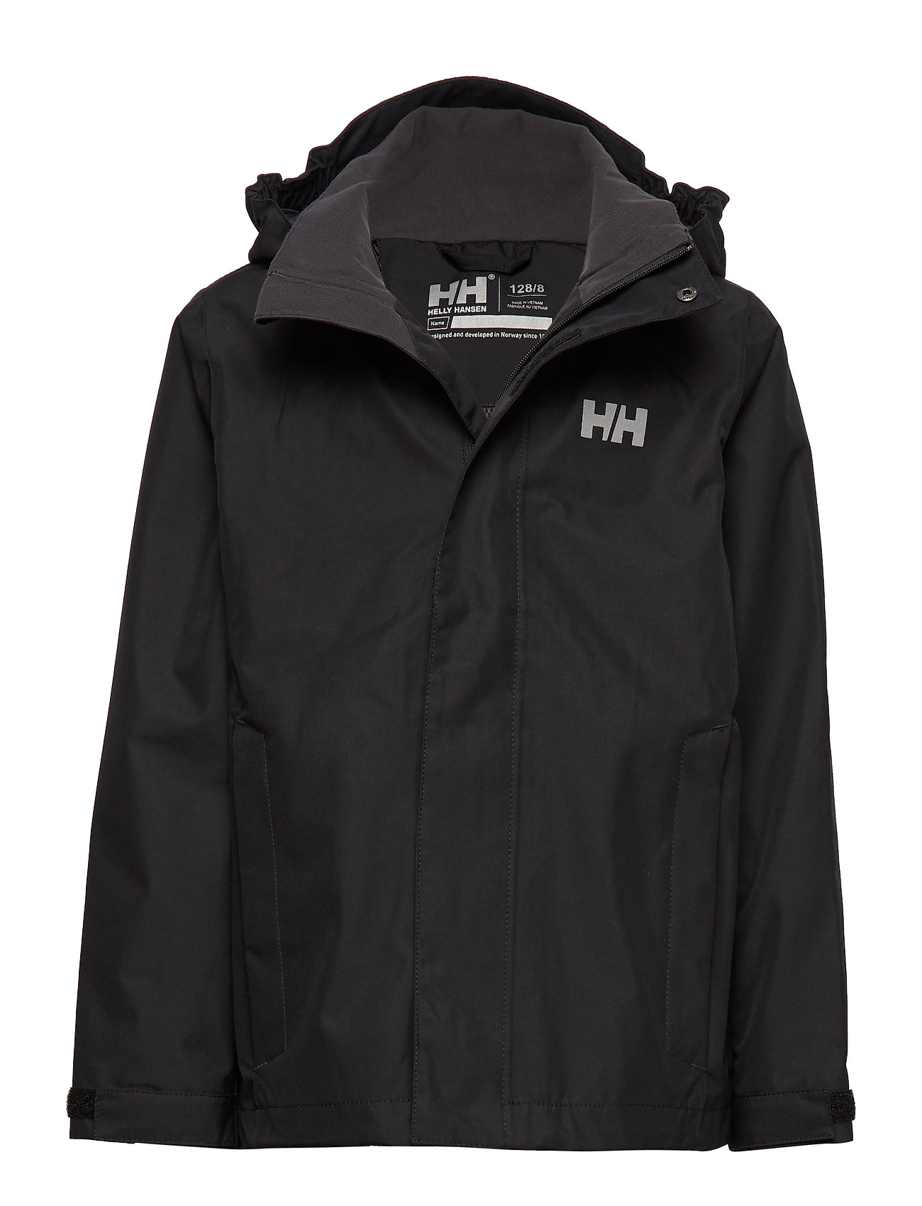 Helly Hansen JR SEVEN J JACKET - BLACK