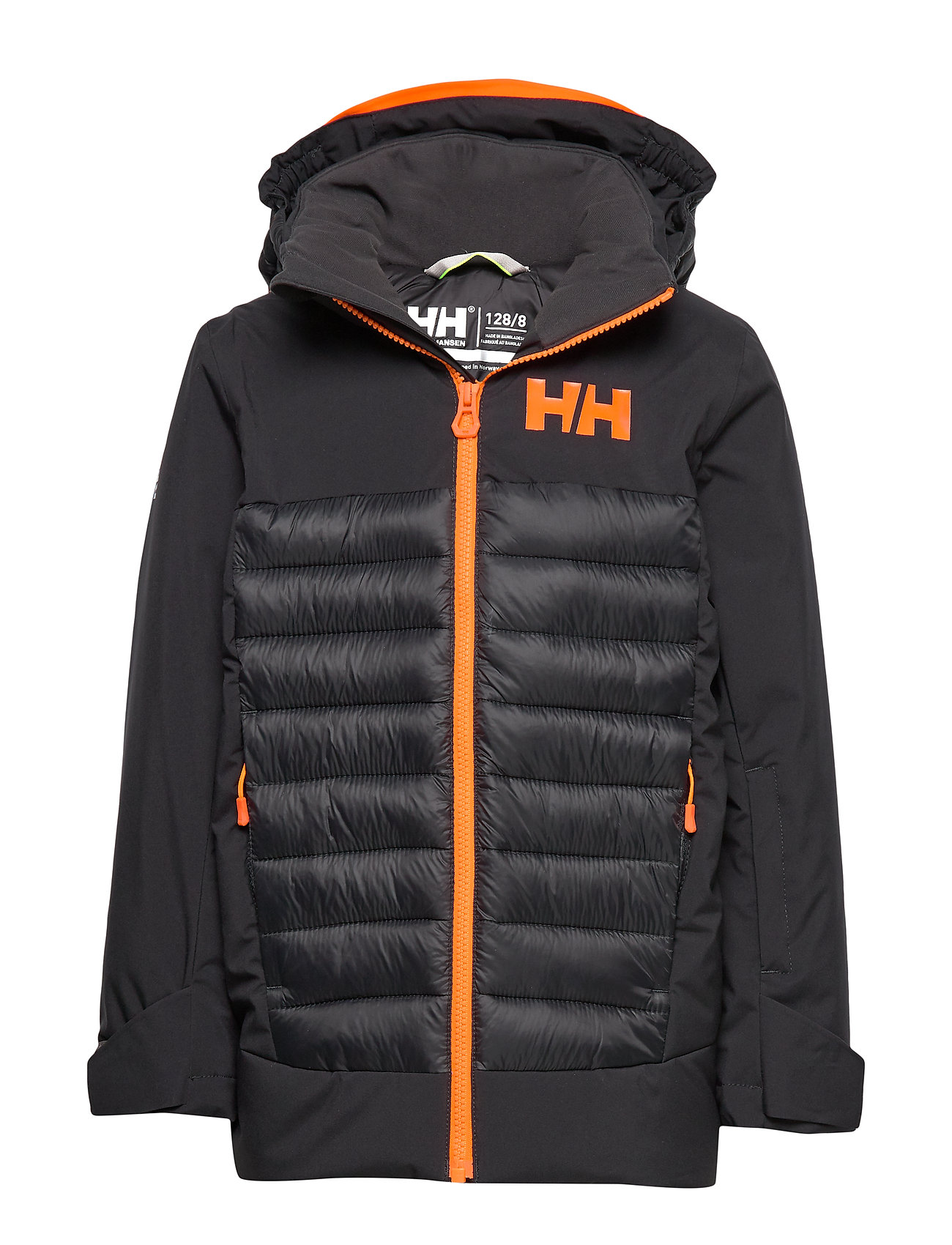 Helly Hansen JR SUMMIT JACKET - BLACK