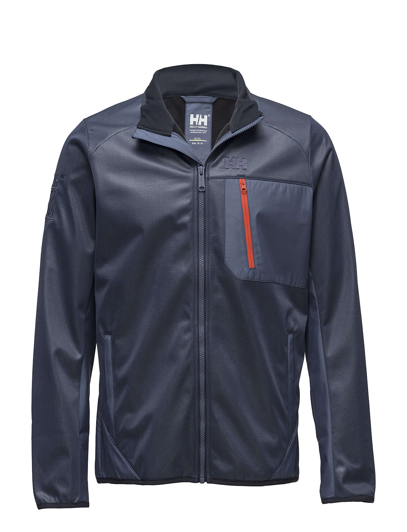 Helly Hansen FJORD WINDPROOF FLEECE - 701 VINTAGE INDIGO