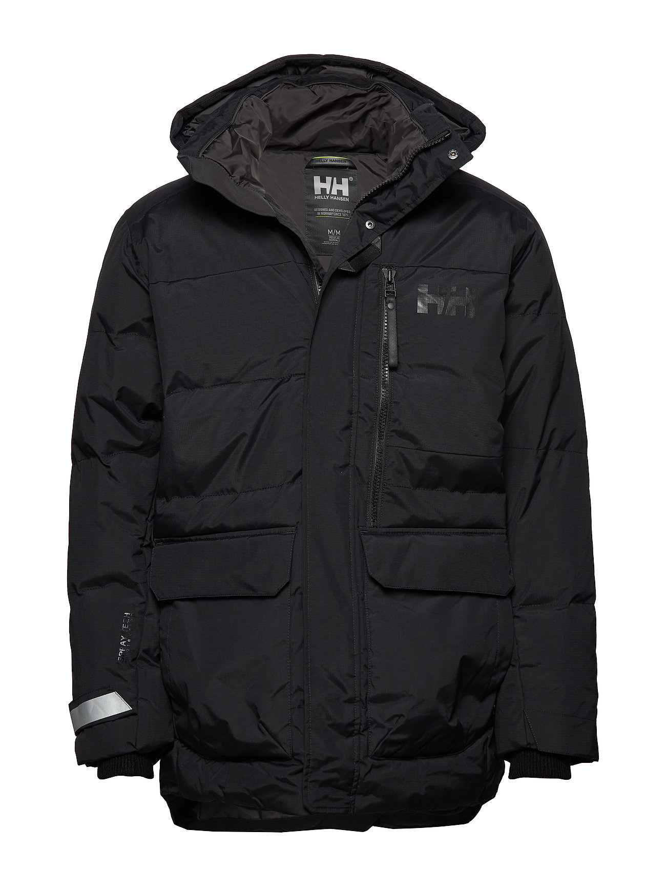 HELLY HANSEN Tromsoe Jacket Parka Jacke Schwarz HELLY HANSEN