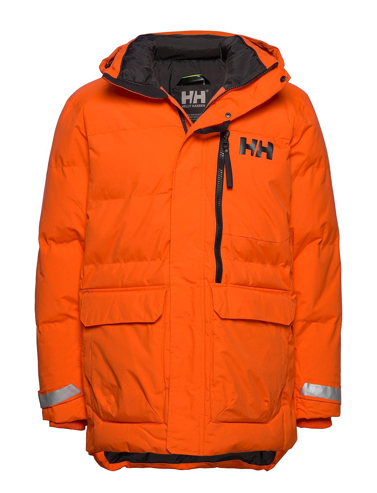 HELLY HANSEN Tromsoe Jacket Parka Jacke Orange HELLY HANSEN