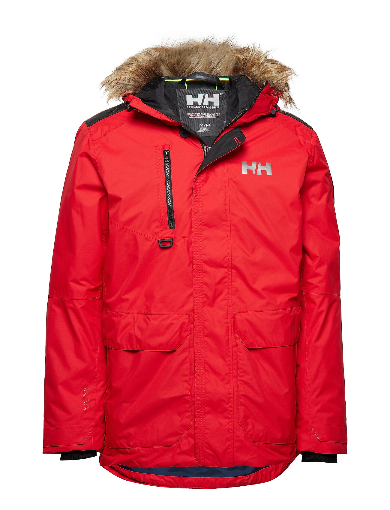 Helly Hansen SVALBARD PARKA - FLAG RED