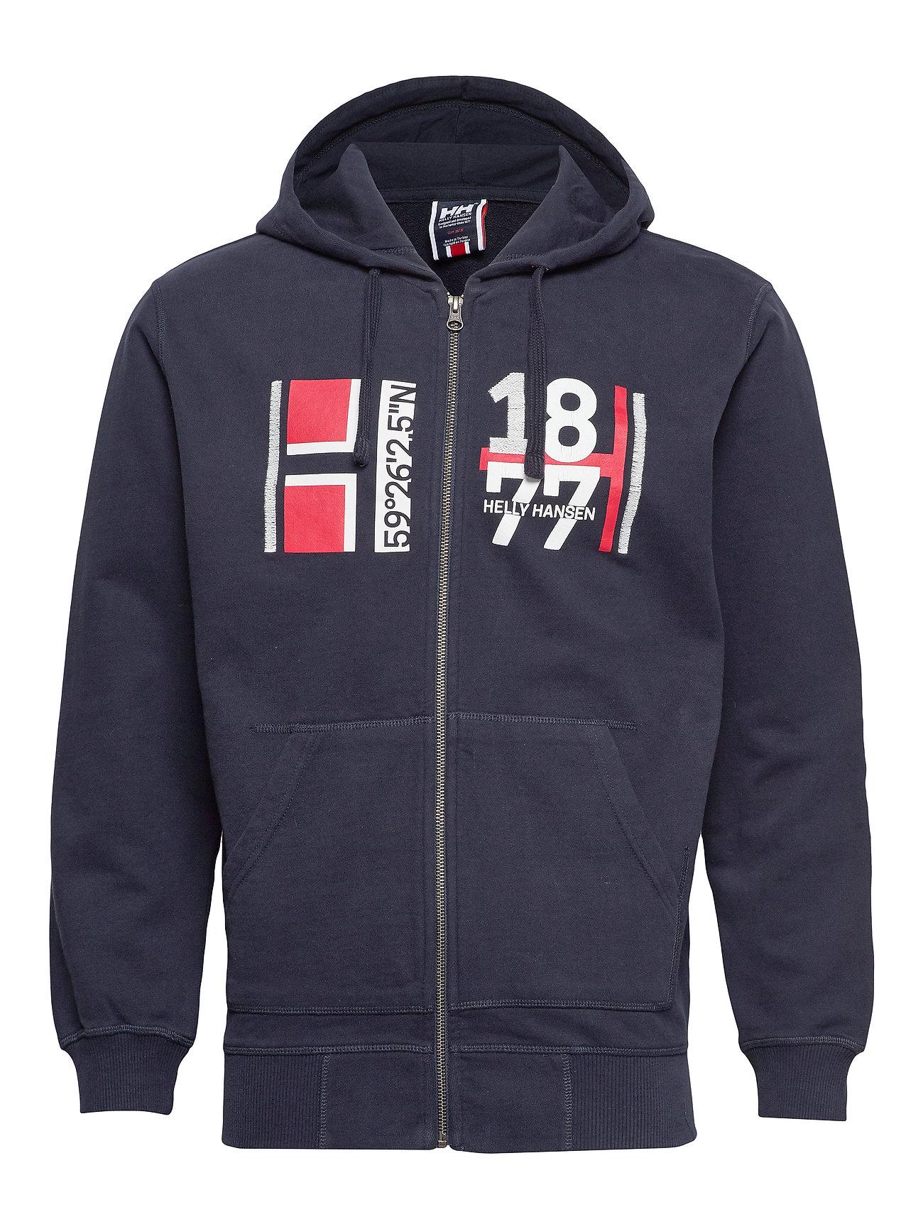 Helly Hansen HH NORSE FZ HOODIE - NAVY