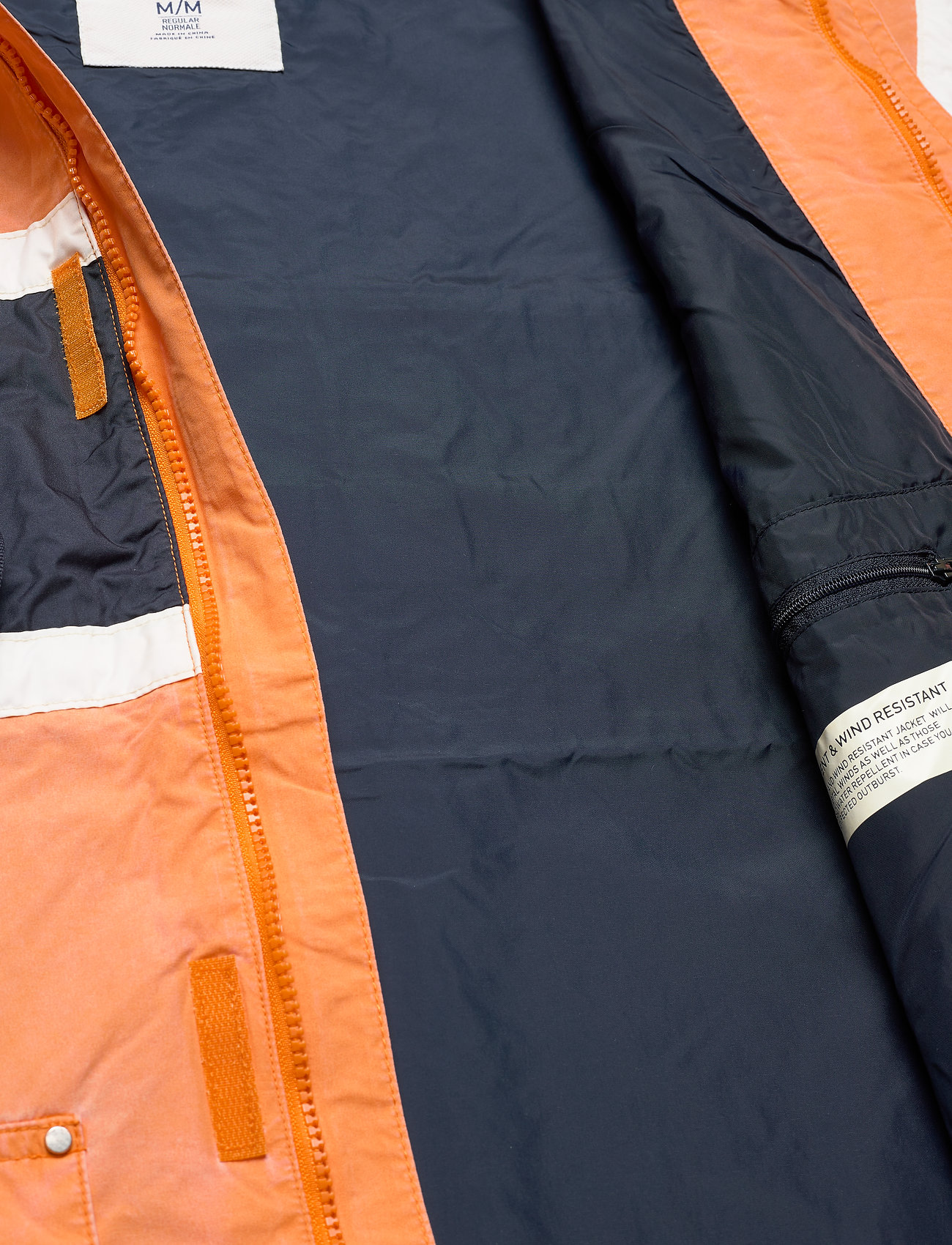 Helly Hansen Hh Salt Heritage Jacket - Jackor & Rockar Orange Peel
