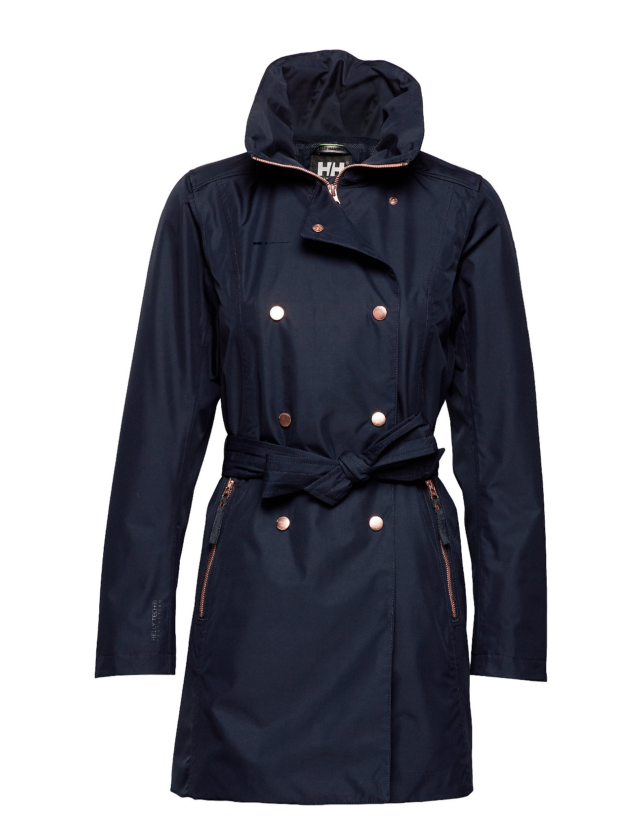 Helly Hansen W WELSEY II TRENCH - NAVY