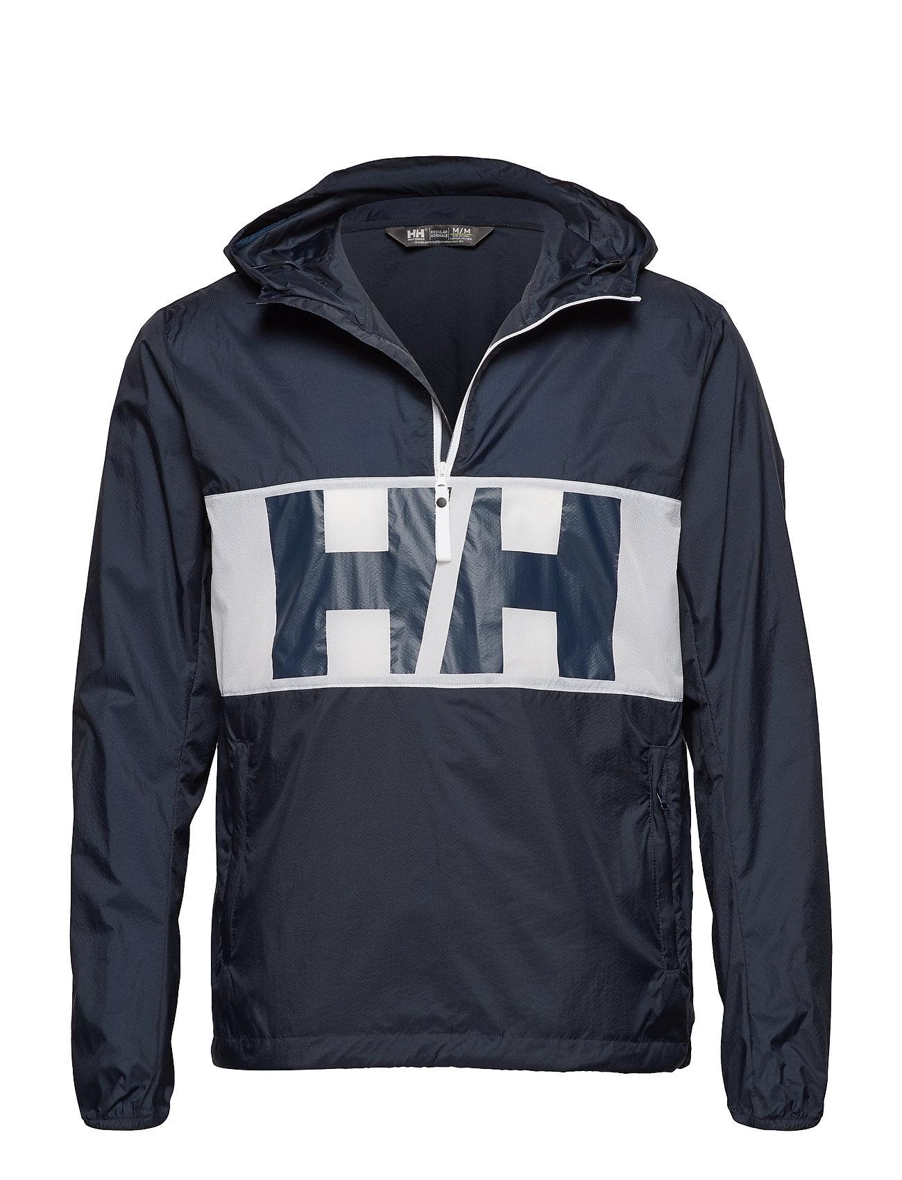 cdd14f69 Helly Hansen parkaer – Active Windbreaker Anorak til herre i Blå ...