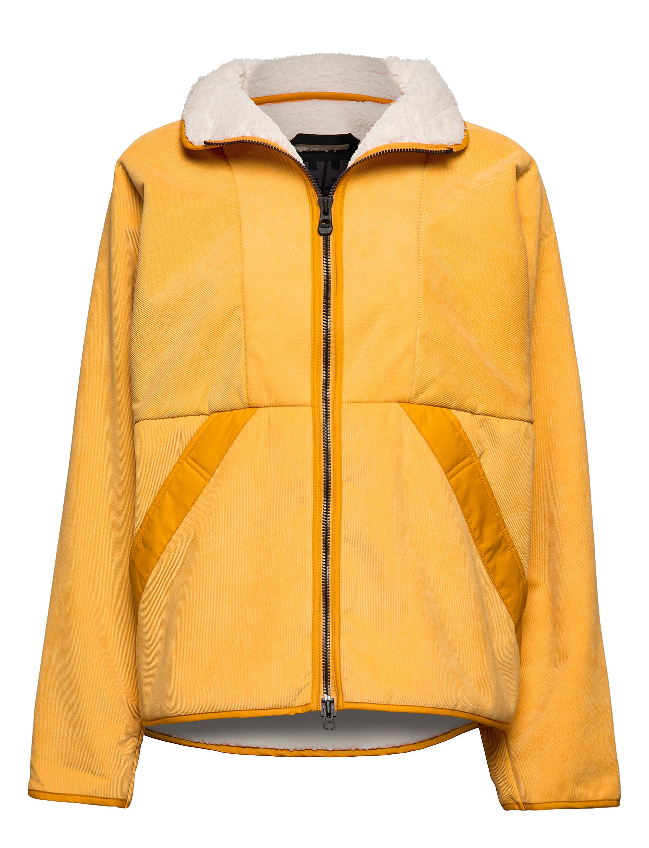 Helly Hansen W BELOVED CORD JACKET - GOLDEN GLOW