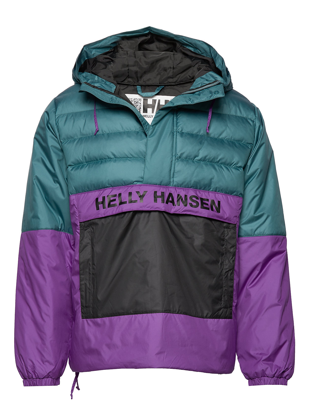 Helly Hansen P&C QUILTED ANORAK - WASHED TEAL