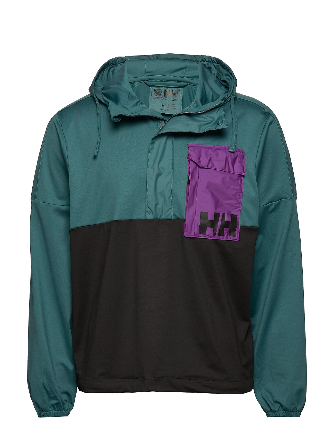 Helly Hansen P&C ANORAK - WASHED TEAL