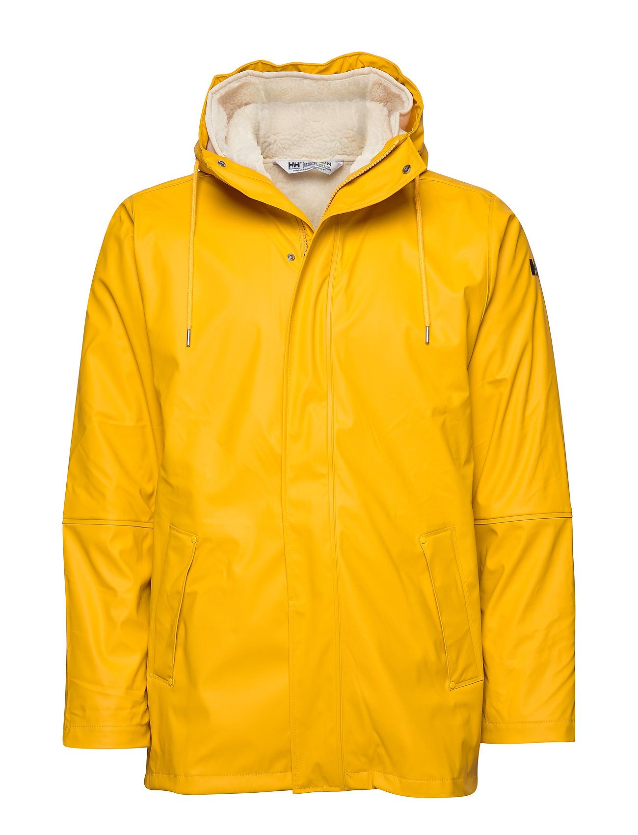 Helly Hansen MOSS INSULATED RAIN COAT - ESSENTIAL YELLOW