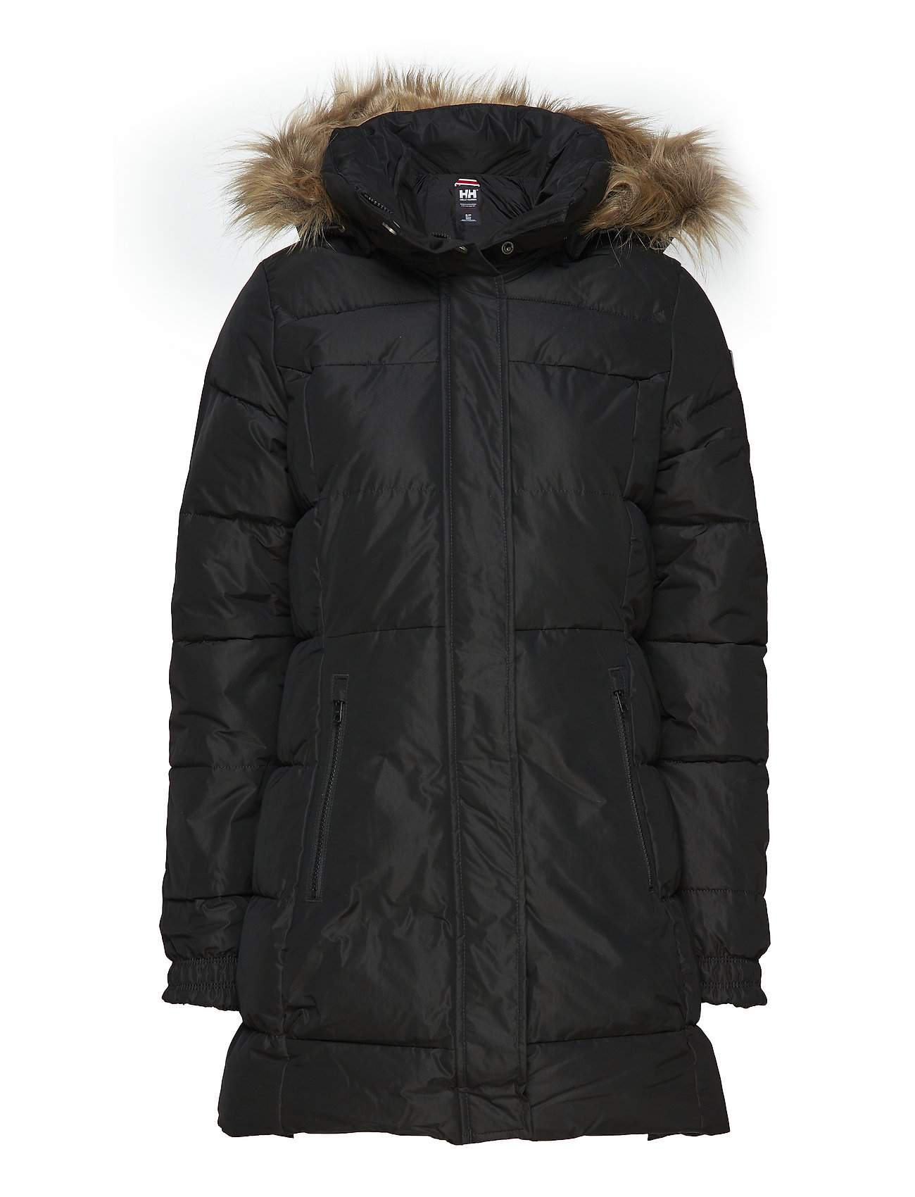 1f7ac6d8c16 W Blume Puffy Parka (Black) (£203.40) - Helly Hansen -