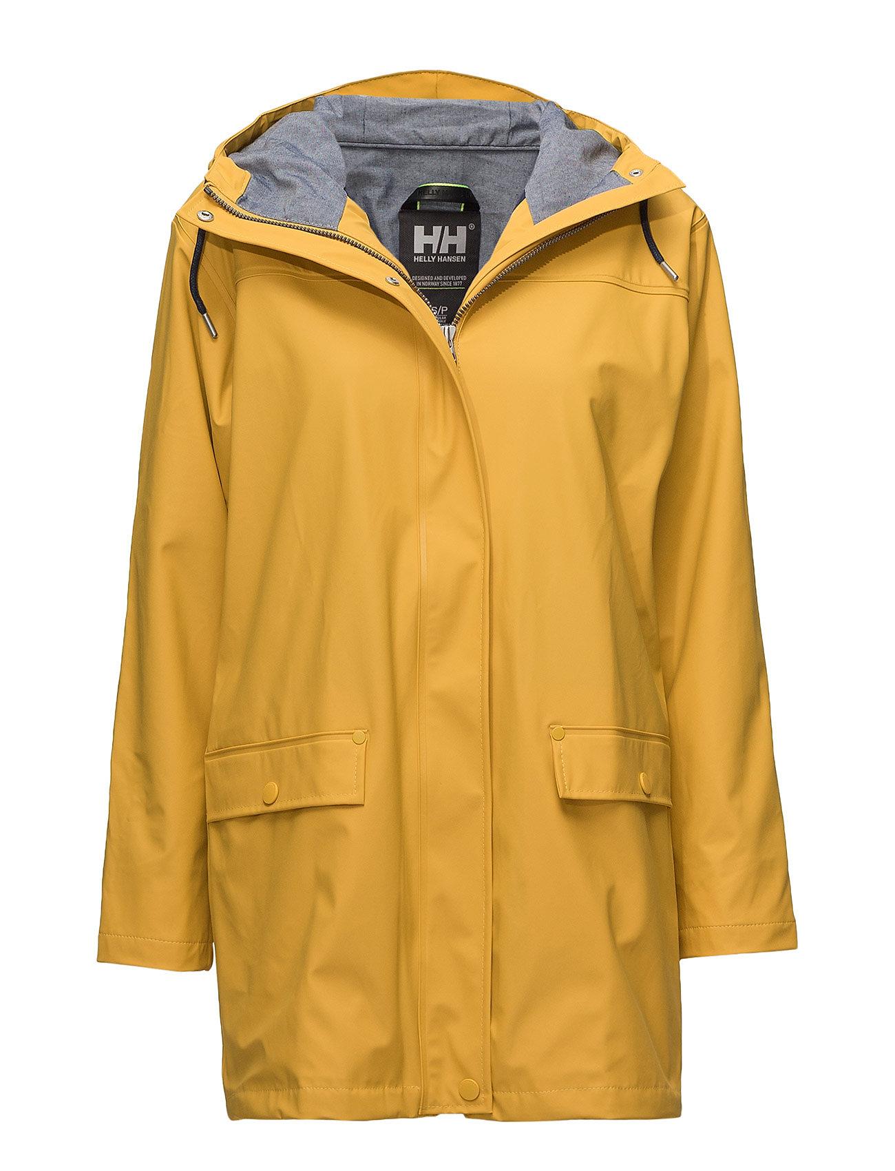 HELLY HANSEN W Dunloe Jacket Parka Jacke Mantel Gelb HELLY HANSEN