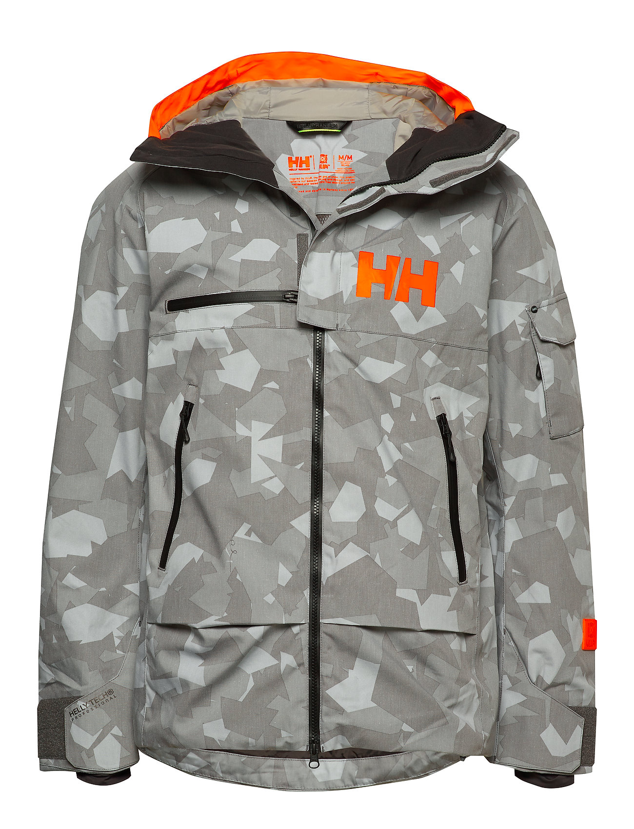 Helly Hansen GARIBALDI JACKET - QUIET SHADE CAMO