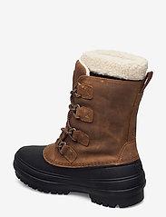 Helly Hansen - W VARANGER PRIMALOFT - flat ankle boots - 741 bistre / black - 2