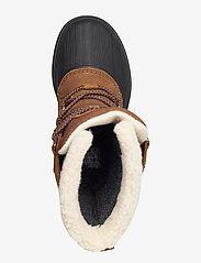 Helly Hansen - W VARANGER PRIMALOFT - flat ankle boots - 741 bistre / black - 3