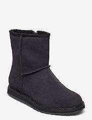 Helly Hansen - W ANNABELLE BOOT - flat ankle boots - 990 black / black gum - 0