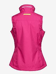Helly Hansen - W CREW VEST - puffer vests - dragon fruit - 1
