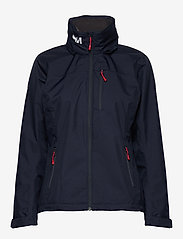 Helly Hansen - W CREW HOODED JACKET - ulkoilu- & sadetakit - 598 navy - 3