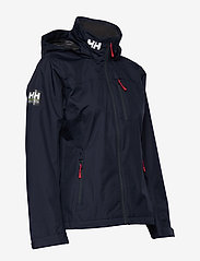 Helly Hansen - W CREW HOODED JACKET - ulkoilu- & sadetakit - 598 navy - 6