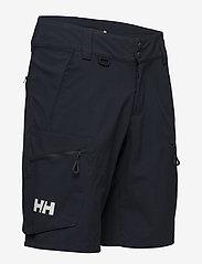 Helly Hansen - CREWLINE CARGO SHORTS - spodenki treningowe - navy - 2