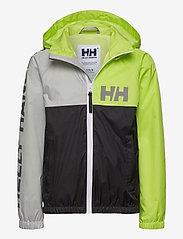 Helly Hansen - K ACTIVE RAIN JACKET - jassen - ebony - 0