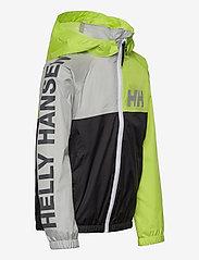 Helly Hansen - K ACTIVE RAIN JACKET - jassen - ebony - 3