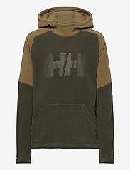 Helly Hansen - JR DAYBREAKER HOODIE - hoodies - pine green - 0