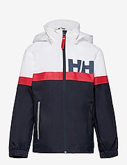 Helly Hansen - JR ACTIVE RAIN JACKET - jassen - navy - 0